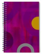 Be Happy II Spiral Notebook