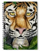 Be Like A Tiger Spiral Notebook