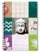 Be Present Spiral Notebook