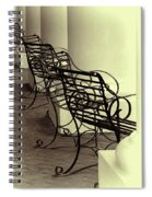 Be Seated Spiral Notebook