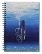 Be Still And Breathe Spiral Notebook
