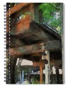 Be Still In This Quiet Place Spiral Notebook