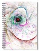 Be Strong Little Flower Spiral Notebook