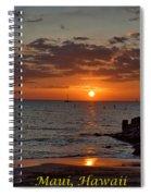 Beach Arrival Spiral Notebook