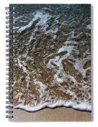 Beach At Grand Turk Ocean Beauty Spiral Notebook