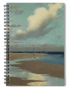 Beach At Low Tide Spiral Notebook