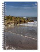Beach At Tybee Spiral Notebook