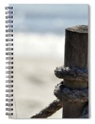 Beach Barrier Spiral Notebook