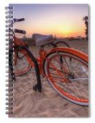 Beach Bike Spiral Notebook