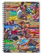 Beach Blanket Bingo Spiral Notebook