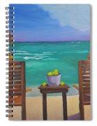 Beach Blondes Spiral Notebook