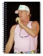 Beach Boys Mike Love Spiral Notebook