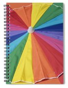 Beach Brolly Spiral Notebook