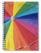 Beach Brolly Spiral Notebook
