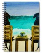 Beach Bums Spiral Notebook