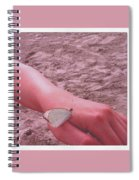 Beach Butterfly Spiral Notebook