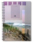 Beach Collage 3 Spiral Notebook