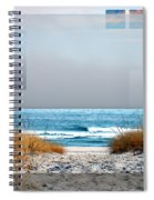Beach Collage Spiral Notebook