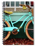 Beach Cruiser Bike Spiral Notebook