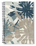 Beach Curry Iv Ikat Spiral Notebook