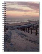 Beach Entrance Lbi New Jersey Vintage  Spiral Notebook