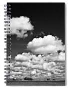 Beach Far And Wide Spiral Notebook
