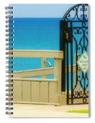 Beach Gate Spiral Notebook