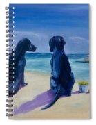 Beach Girls Spiral Notebook