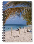 Beach Grand Turk Spiral Notebook