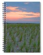 Beach Grass Farm Spiral Notebook