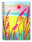Beach Grasses Spiral Notebook