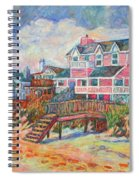 Beach Houses At Pawleys Island Spiral Notebook