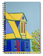Beach Houses Spiral Notebook