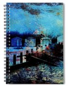 Beach Huts 2 Spiral Notebook