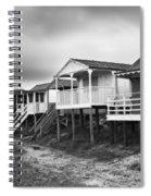 Beach Huts North Norfolk Uk Spiral Notebook