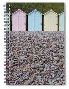 Beach Huts X Spiral Notebook
