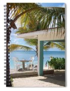Beach In Grand Turk Spiral Notebook