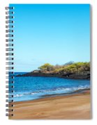 Beach In The Galapagos Spiral Notebook