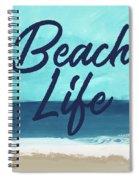 Beach Life- Art By Linda Woods Spiral Notebook