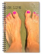 Beach Life Spiral Notebook