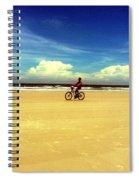 Beach Life On Daytona Beach Spiral Notebook