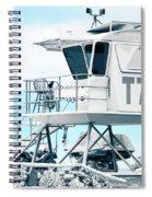 Beach Lifeguard Tower Spiral Notebook