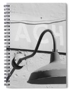 Beach Light Spiral Notebook