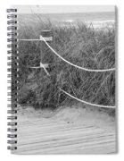 Beach Lines Spiral Notebook