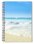 Beach Love Summer Sanctuary Spiral Notebook