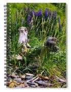 Beach Lupines Spiral Notebook