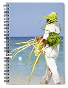 Beach Man Spiral Notebook