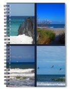 Beach Multiples Spiral Notebook