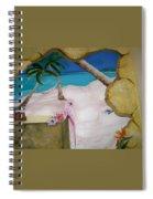Beach Mural Spiral Notebook