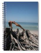 Beach Ngirl Spiral Notebook